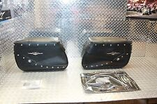 09 16 Suzuki Boulevard C50 Saddlebag With Bracket Hardware OEM New Saddle Bag