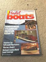 OCT 1987 MODEL BOATS boat model magazine