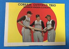 "Topps #543  ""Corsair Outfield Trio"" Pittsburgh Pirates Baseball Card (VG) #2"