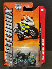 2012 Matchbox MBX Heroic Rescue 114/120 BMW 1200 RT-P Police Motorcycle