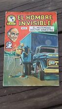 1965 MEXICAN COMIC EL HOMBRE INVISIBLE # 26 (INVISIBLE MAN ADVENTURE/MONSTER)