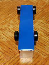 "Fast Pinewood Derby Car ""Ready to Race"