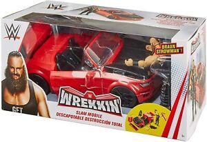 WWE Wrekkin' Slam Mobile Mattel Playset w/ BONUS Braun Strowman Figure