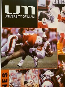 University Of Miami College Football Poster Hurricanes New