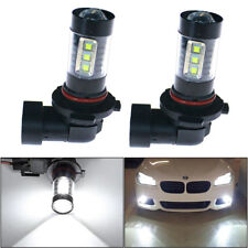 2x New 6000K White 160W Led H10 9145 Projector High Power Fog Driving Light Bulb(Fits: Lincoln Aviator)