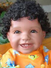 "Reborn Ethnic/Hispanic/biracial 22"" ToddlerBoyDoll Samuel ""Silly Monster"""