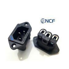 Furutech FI-06 NCF (R) Nano Crystal Formula Copper Rhodium Plated IEC Japan