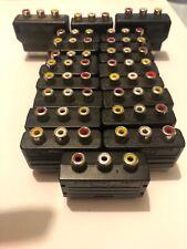 😍 cable adaptateur convertisseur video peritel 3 broches rca gaming jeu magneto