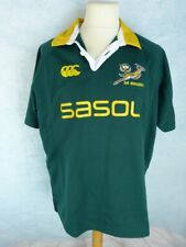 CANTERBURY Rugby Maillot Homme Taille XL - Afrique du Sud