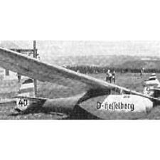 Bauplan Rhönbussard Modellbau Modellbauplan Segelflugzeug