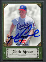 Mark Grace #64 signed autograph auto 2006 Fleer Greats of the Game Baseball Card