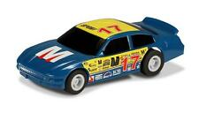*NEW* Scalextric - Micro Scalextric US Stock Car - Blue 17 1:64 Scale