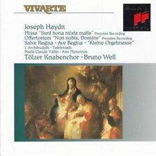 "Haydn: Missa ""Sunt Bona Mixta Mails : Tölzer Knabenchor / Bruno Weil"