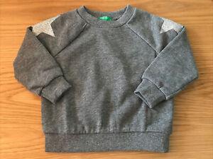 Girls Benetton Sweatshirt Age 1