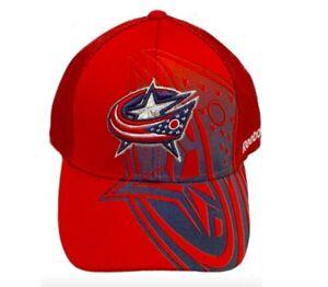 Reebok Columbus Blue Jackets Cap Flex Fit Hat NHL Headwear
