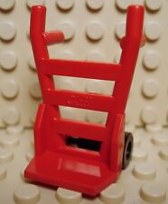 LEGO New Hand Truck Frame & Trolley Wheels Red Harry Potter 2004 8-12 Boys Girls