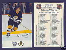1988-89 Esso All-Star Bobby Orr Canada Only