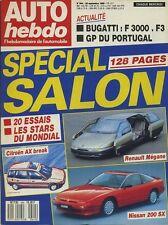 AUTO HEBDO n°644 du 28 Septembre 1988 GP PORTUGAL SALON