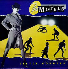 The Motels 1983 Little Robbers Original Jumbo Promo Poster
