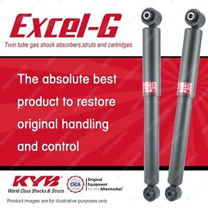 2 x Rear KYB EXCEL-G Shock Absorbers for NISSAN X-Trail T31 T32 4WD FWD Wagon