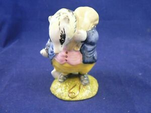 BESWICK BEATRIX POTTER TOMMY BROCK BP3a with hidden handle very rare
