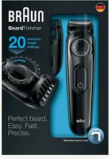Beard Trimmer Lowest Price Braun BT3020 (Black) Best Quality free shipping