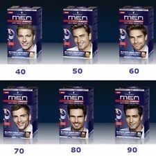 (see VID)  Schwarzkopf MEN PERFECT Anti Grey Hair Mens Natural Hair Color Gel
