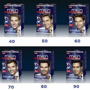 (see VID)  Schwarzkopf MEN PERFECT Anti Grey Hair Mens Natural Hair Color Gel