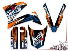 KTM LC4 SXC SM SMC DUKE 620 625 640 660 PRESTIGE   98-07 FREERIDE DEKOR DECALS