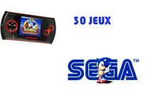 Sega - Console Retro Portable Master System & Game Gear Arcade