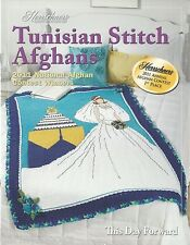 Tunisian Stitch Afghans Crochet Instruction Patterns Herrschners 2011 NEW Eagle