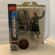 Rare MARVEL SUPER HERO SQUAD RED SKULL with Blue Eyes Hasbro Action Figure 2011