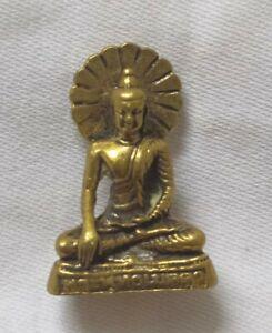 Statue Phra Buddha's compassion Buddha Thai Amulet fetish Yant For Prosperity