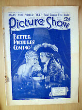 PICTURE SHOW April 1927: DOROTHY GISH & HENRI BOSC- Better Pictures Coming
