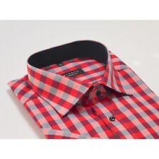 "Eterna Mens Shirt, Comfort Fit, Brand New, Size 41/16"", Short Sleeved, 8348/52"