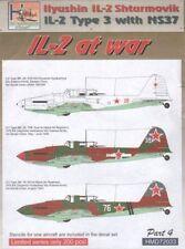 h-model Decals 1/72 ILYUSHIN IL-2 Typ 3M (mit ns-37 Kanonen) at War, pt.4 #7203