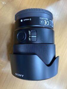 Sony FE 35mm F1.8 large aperture full-frame E-mount prime lens