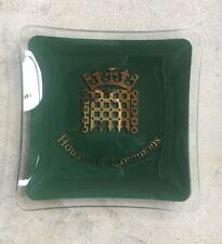 kitsch retro glass ashtray - House of Commons