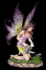 Elfen Figur - Viola giesst Blumen - Gärtnerin Fee Fantasy Deko Geschenk