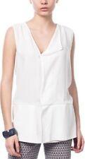 Zara Hip Length Chiffon Casual Tops & Shirts for Women