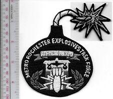 FBI ATF EOD Metro Rochester Explosives Task Force MCSO FBI ATF RPD New York Stat
