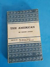 The American (Riverside Editions) by James, Henry published by...