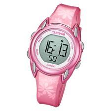 Calypso Damenuhr Jugenduhr Digitaluhr Pink rosa Uhr 5 ATM 31mm K5735/5