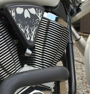 CAM ADJUSTER COVERS VICTORY MOTORCYCLE CHROME FINNED ALL 2004 - 2017 MODELS
