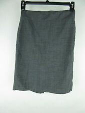 Banana Republic Women's sz 2 Wool Blend Stretch Gray Straight Pencil Skirt