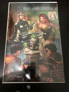 Super Sons #1 Tyler Kirkham FOIL Virgin Cover Joker