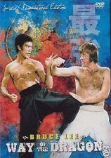 Way Of The Dragon Dvd Bruce Lee Nora Miao Bob Wall Chuck Norris 4+ Star Classic!