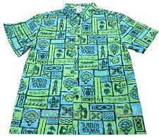 NEW Disney Trader Sam's Grog Grotto Enchanted Tiki Room Hawaiian Shirt XL XLarge