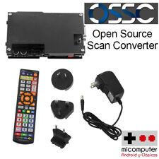 OSSC 1.6 Open Source Scan Converter. Componentes, SCART, VGA a HDMI upscaler