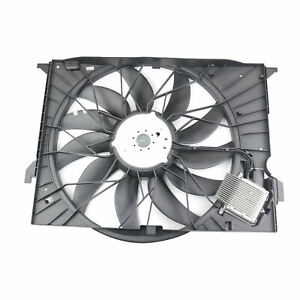 New Engine Cooling Radiator Fan Assembly For Mercedes-Benz E S Class W211 W221